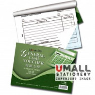 image of UNI GENERAL CASH VOUCHER NCR 2 PLY X 50'S (U-103)