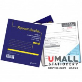 image of UNI PAYMENT VOUCHER NCR 2 PLY X 50'S (U-1033)