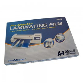 image of ProMaster A4 Laminating Film 100 sheets