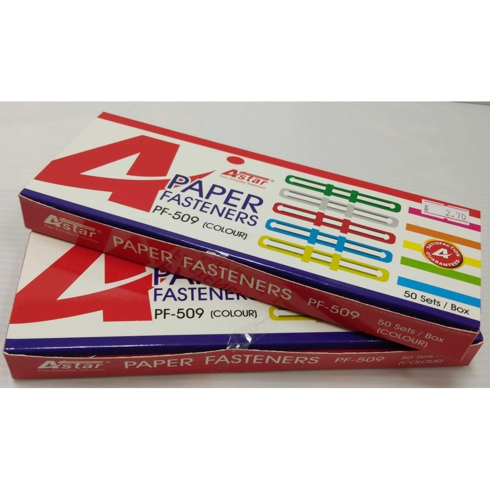 ASTAR PAPER FASTENER 50'S (2 FOR)