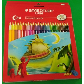 image of STAEDTLER LUNA 24 COLOUR PENCIL (136C24)