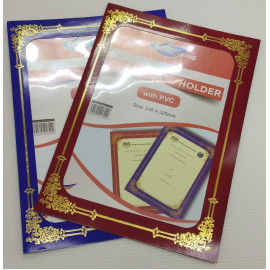 image of CERTIFICATE HOLDER WITH PVC (235 X 325MM)