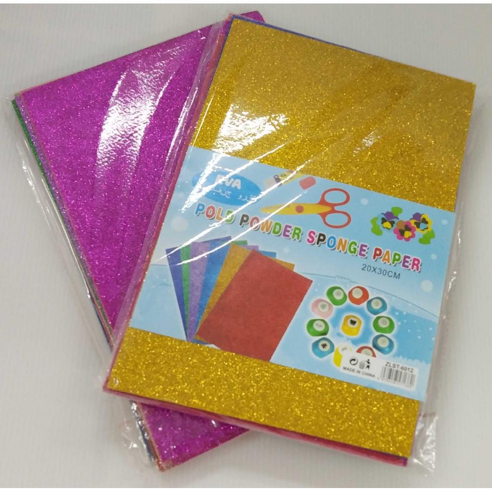 Eva Pold Powder Sponge Paper 10's (20 x 30cm)
