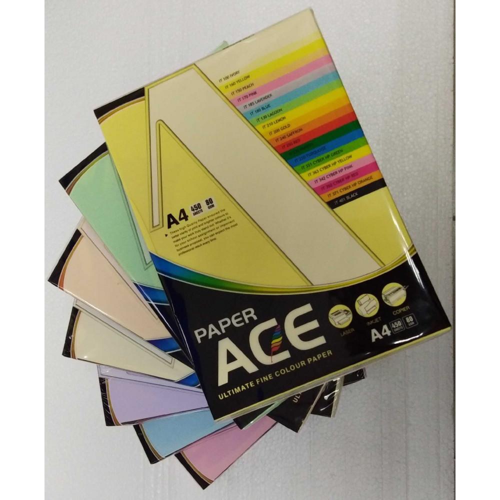 Pastel Colour Paper 80gsm A4-450's