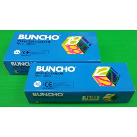 image of Buncho Poster Colors Set 15cc