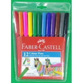 image of Faber Castell Colour Pen (12 colours)