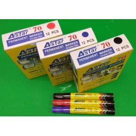 image of Astar Permanent Marker 12 pcs