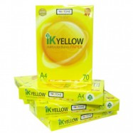 image of IK Yellow A4 70gsm Paper 450's
