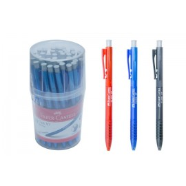 image of FABER-CASTELL CLICK BALL PEN 40 pcs