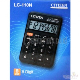 image of CITIZEN CALCULATOR (8 DIGITS) LC-110N