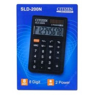 image of CITIZEN CALCULATOR (8 DIGITS) SLD-200N