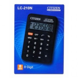 image of CITIZEN CALCULATOR (8 DIGITS) LC-210N
