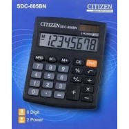 image of CITIZEN CALCULATOR (8 DIGITS) SDC-805BN