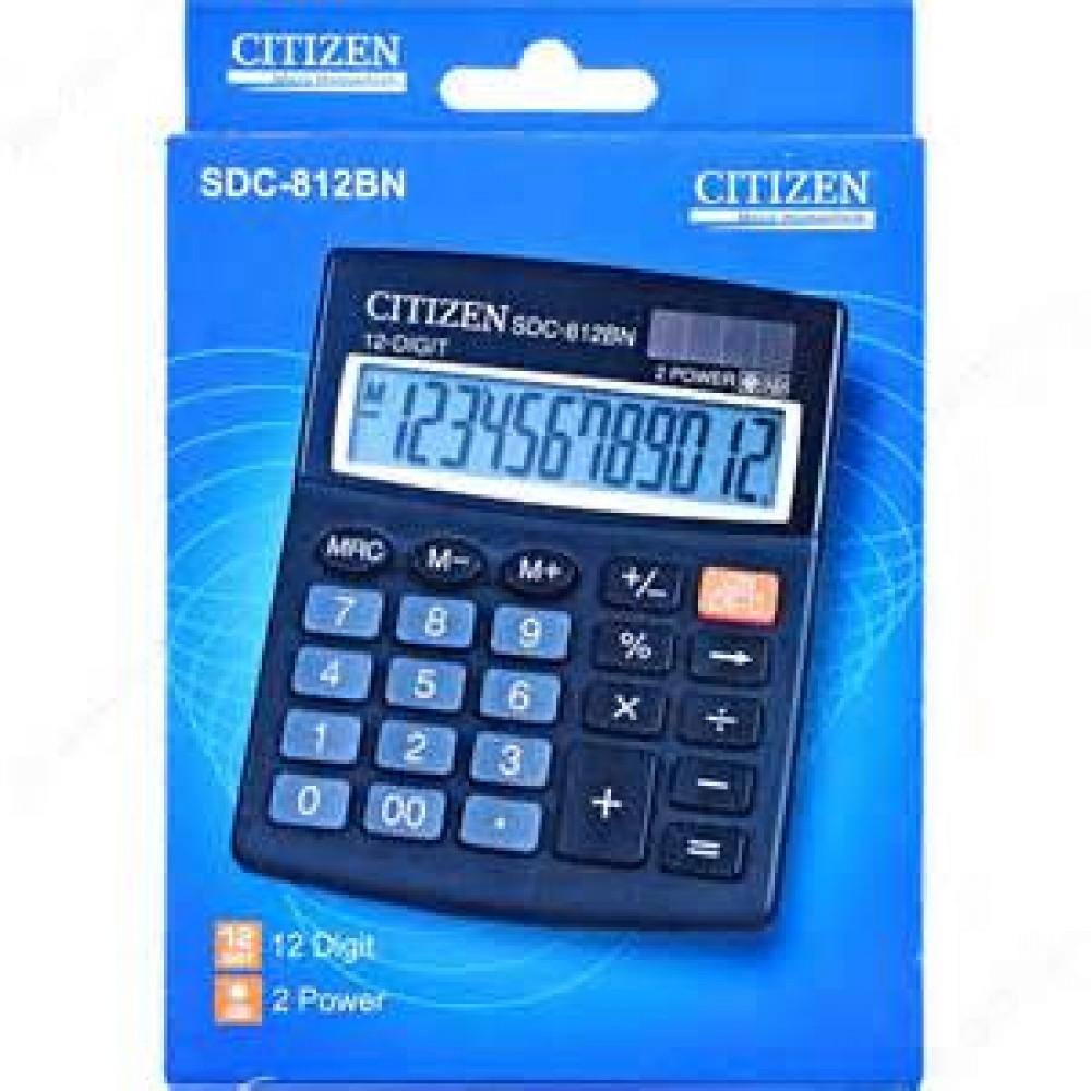 Citizen Calculator 12 Digits Sdc 812bn