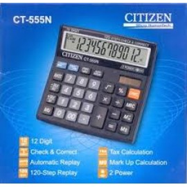 image of CITIZEN CALCULATOR (12 DIGITS) CT-555N