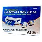 PRO-MASTER LAMINATING FILM 100'S