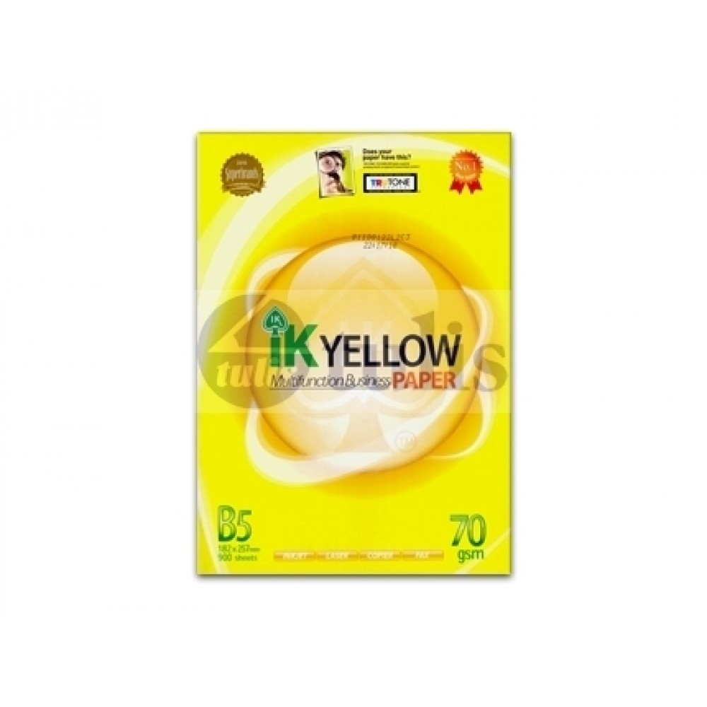 IK Yellow B5 70gsm Paper 900's