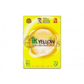image of IK Yellow B5 70gsm Paper 900's