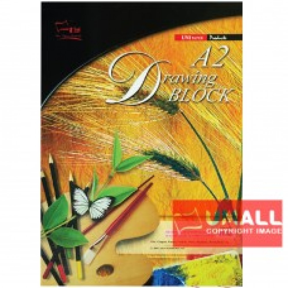 UNI DRAWING BLOCK 165G A2-20'S (SDB2400)