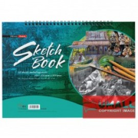 image of UNI SKETCH BOOK B4 135G 15'S (S2350)