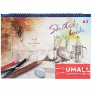 image of UNI SKETCH BOOK A3-20'S (S2356)