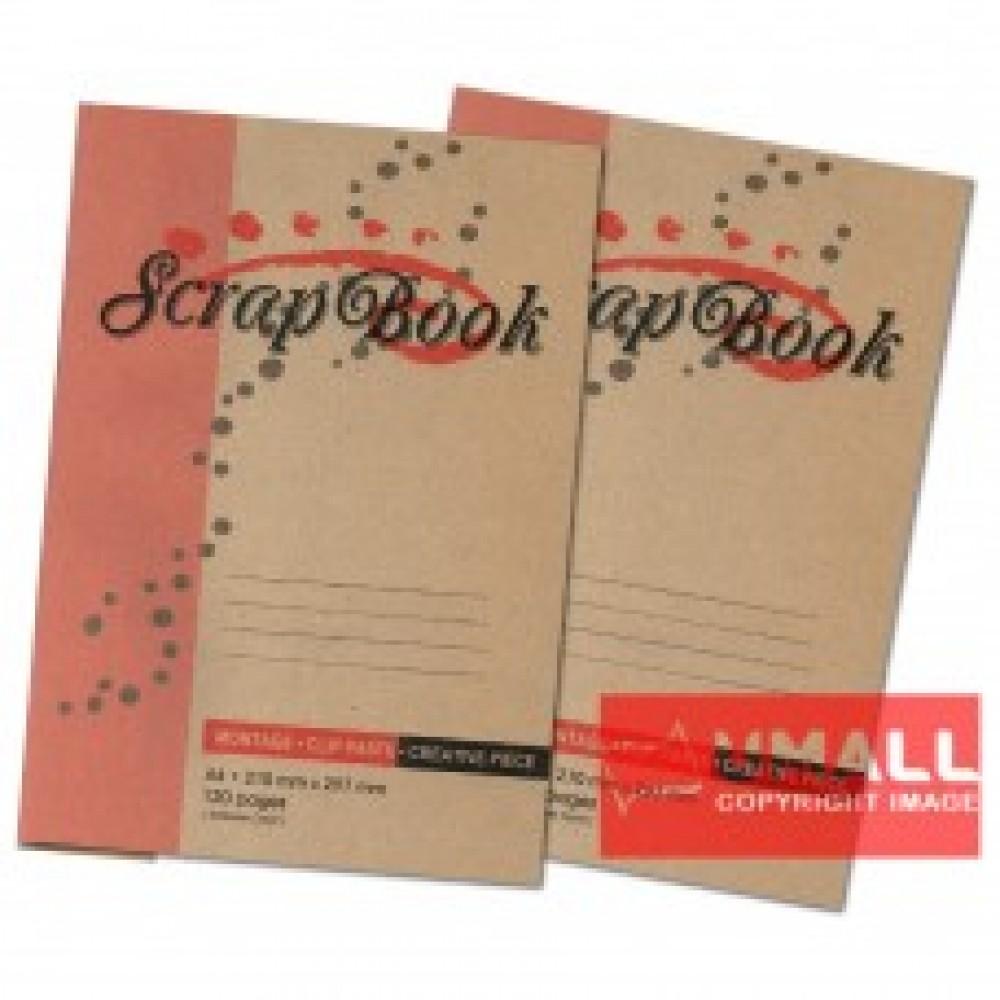 UNI SCRAP BOOK A4-120P (S5002)
