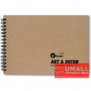 image of UKAMI ART & DECOR RING SKETCH BOOK 165GSM A5-40'S (S3313)