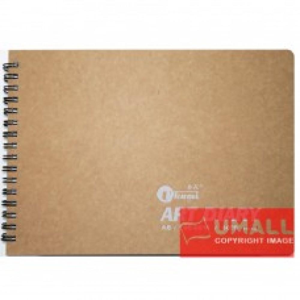 UKAMI ART & DECOR RING SKETCH BOOK 165GSM A5-40'S (S5313)