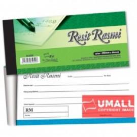 "image of UNI RESIT RASMI 3.5"" X 8"" 45's X 2ply (S5050) 10 IN 1"