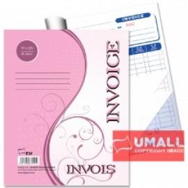"""image of UNI INVOICE 3 PLY X 30'S 10"""" x 8"""" (S3141)"""