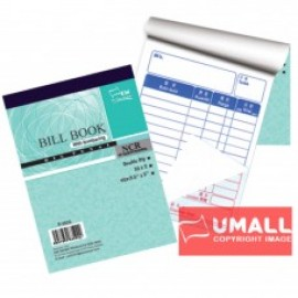 "image of UNI BILL BOOK NCR 2 PLY X 30'S 3.5"" X 5"" (S-3522) 10 FOR"