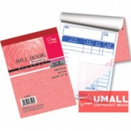 "image of UNI BILL BOOK NCR 3 PLY X 20'S 3.5"" x 5"" (S-3523) 10 FOR"