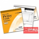 "UNI PETTY CASH VOUCHER 50'S 7"" X 7.5"" (SCV-0050) 10 IN 1"