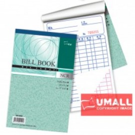 "image of UNI BILL BOOK NCR 2 PLY X 40'S 5"" X 8"" (SB-5822) 10 IN 1"