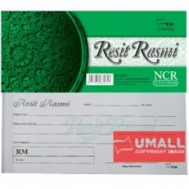 image of UNI RESIT RASMI NCR 2 PLY X 25'S (SR-6061) 2 FOR