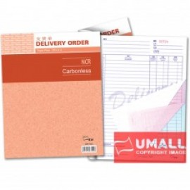 """image of UNI DELIVERY ORDER NCR 3 PLY X 25'S 10"""" X 8"""" (SBB-7522)"""