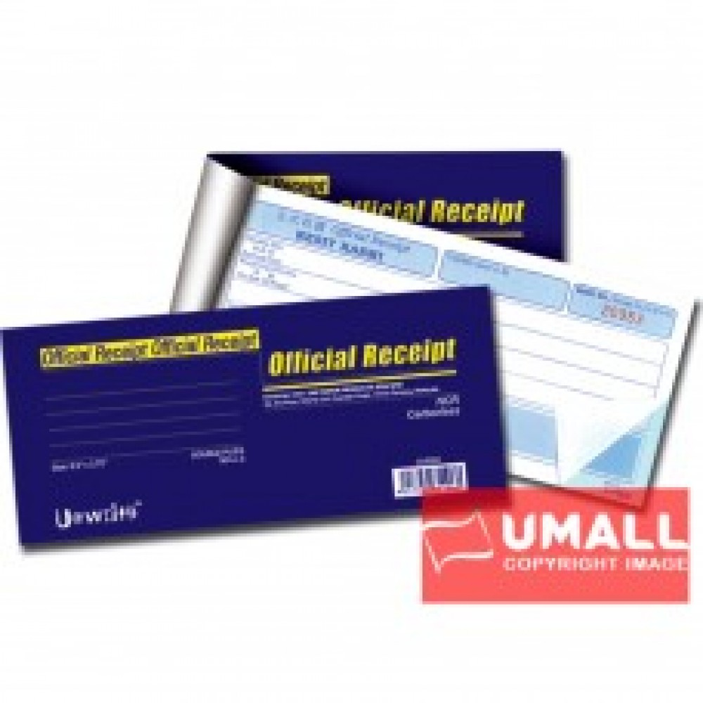 UNI OFFICIAL RECEIPT NCR 2 PLY X 50'S (U-8352)