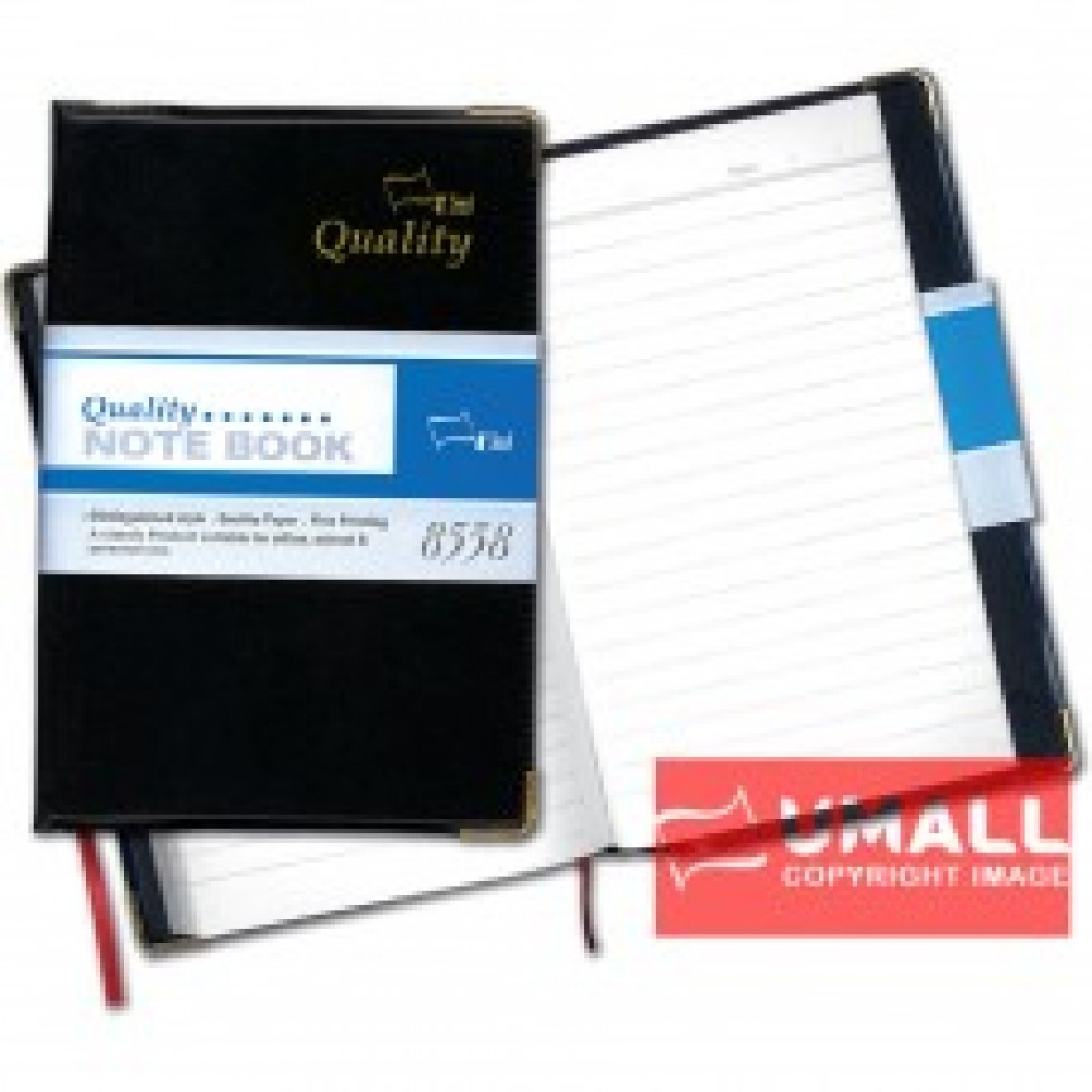 UNI PERSONAL DATA NOTE BOOK A5 S-8558 (PVC COVER)