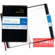 image of UNI PERSONAL DATA NOTE BOOK A5 S-8558 (PVC COVER)