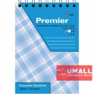 image of UNI PREMIER RING NOTE BOOK 70G B7-120P (S-3152) 3 FOR