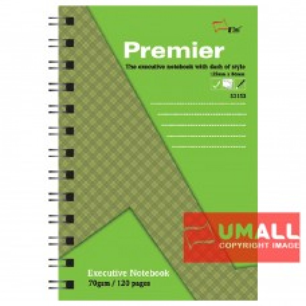 UNI PREMIER RING NOTE BOOK 70G B7-120P (S-3153) 3 FOR