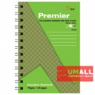image of UNI PREMIER RING NOTE BOOK 70G B7-120P (S-3153) 3 FOR