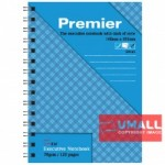 UNI PREMIER RING NOTE BOOK 70G A6-120P (S-4163) 2 FOR
