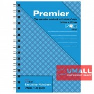 image of UNI PREMIER RING NOTE BOOK 70G A6-120P (S-4163) 2 FOR