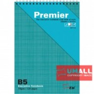 image of UNI PREMIER RING NOTE BOOK 70GSM B5-120P (S7112)