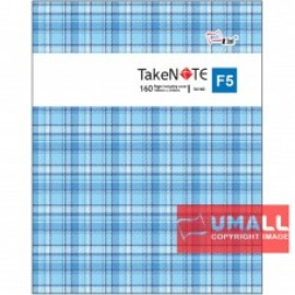 image of UNI TAKE NOTE SERIES PVC COVER EXERCISE BOOK F5-160P (S-6160)