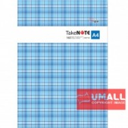 image of UNI PVC COVER NOTE BOOK A4-160P (SNB-7160)