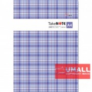 image of UNI PVC COVER NOTE BOOK A4-240P (SNB-7240)