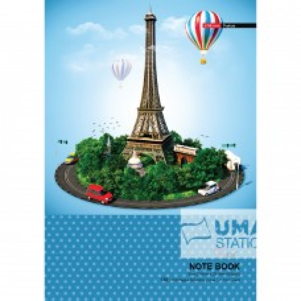 UNI NOTE BOOK 60G A4-120P (SNB-7123)