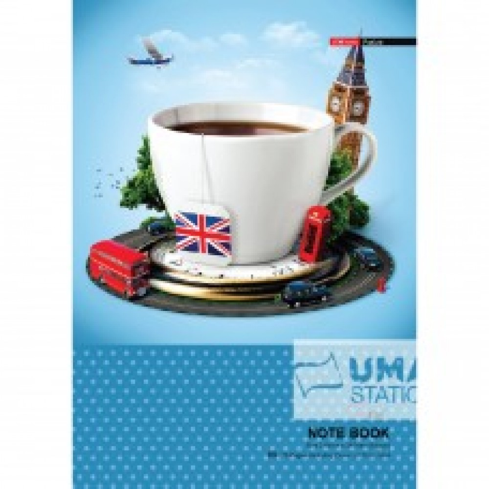 UNI NOTE BOOK 60G A4-80P (SNB-7803) 2 FOR